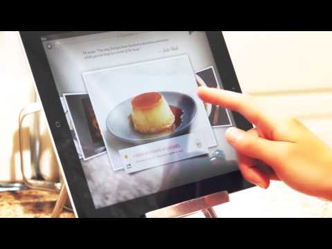 Julia Child's Mastering the Art of French Cooking iPad App