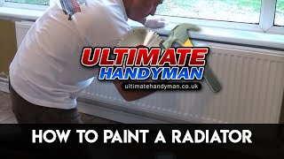 How to paint a metal radiator