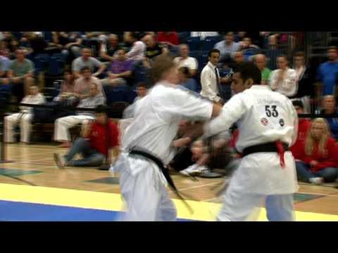 S. BENNETT Full Contact British Kyokushin Karate tournament 2011 IPPON .mov Image 1