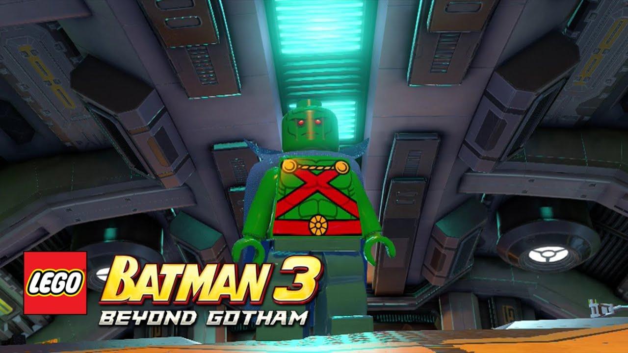 Lego Batman 3 Beyond Gotham Martian Manhunter Lego Batman 3 Beyond Gotham