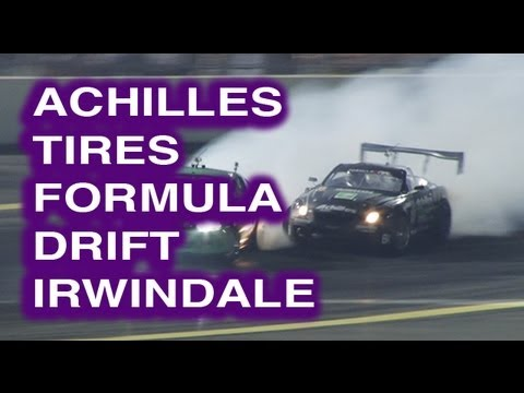 Daigo Saito Formula Drift Irwindale 2012 Achilles Tire