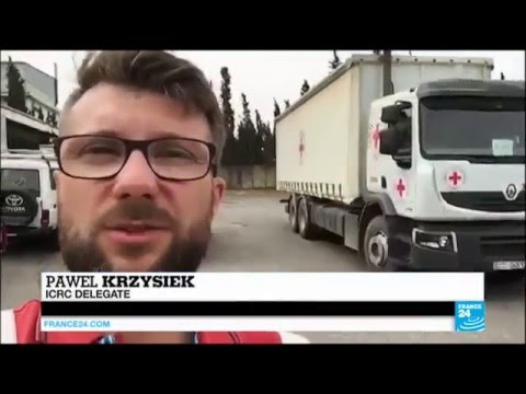 Aid Arrives In Besieged Areas Of Syria, Despite Stumbling Ceasefire