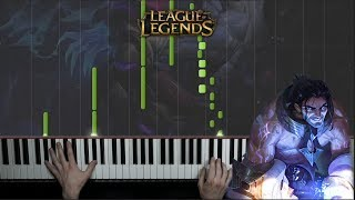 Sylas「Trailer Theme」League of Legends - Piano Cover 🎹