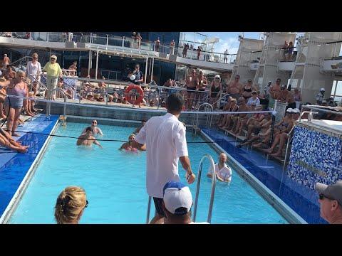 Celebrity Eclipse - Poolside Activities