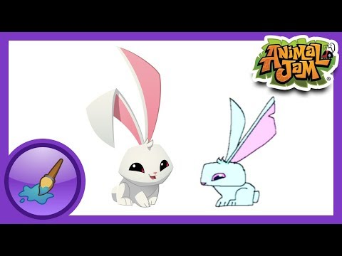 Animal Jam Bunny Drawing ▶ Animal Jam Sketch Jam