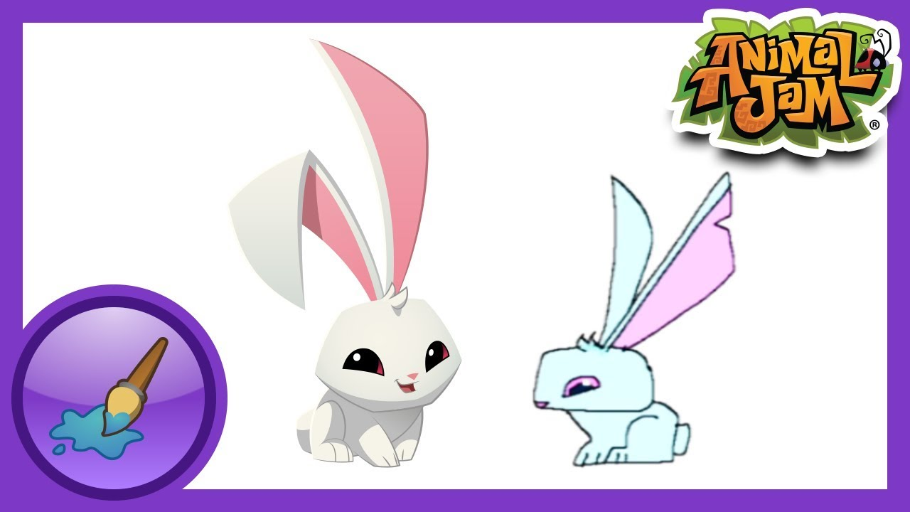 Animal Jam Bunny Drawing Animal Jam Sketch Jam Bunny