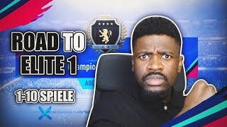 ROAD TO ELITE | FUT CHAMPIONS WL 1-10 | Teamnice