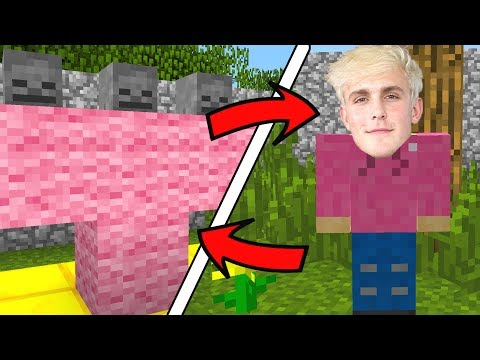 How To Spawn JAKE PAUL in Minecraft (Jake Paul Addon)
