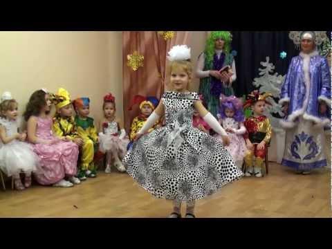Новогодний утренник в детском саду 25 декабря 2012г.