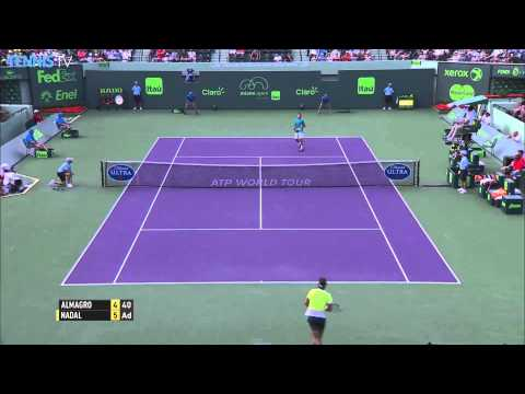Miami 2015 Friday Hot Shot Nadal