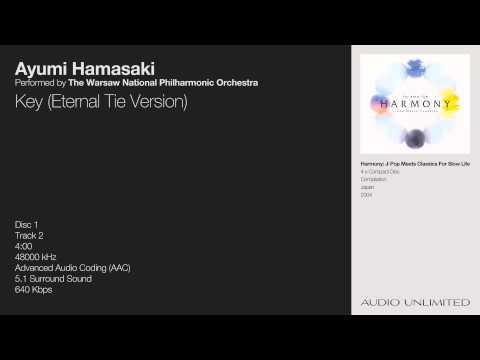 Ayumi Hamasaki & The Warsaw National Philharmonic Orchestra - Key (Eternal Tie Version)