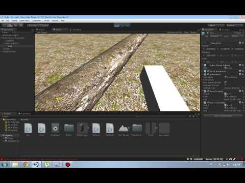 Unity3d Рубка деревьев со звуком и физикой(анимацией). - Браслеты из резинок