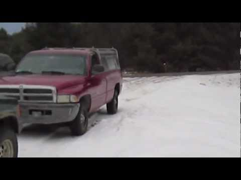 Mudding Mower Snow Romp with Fearlessfront