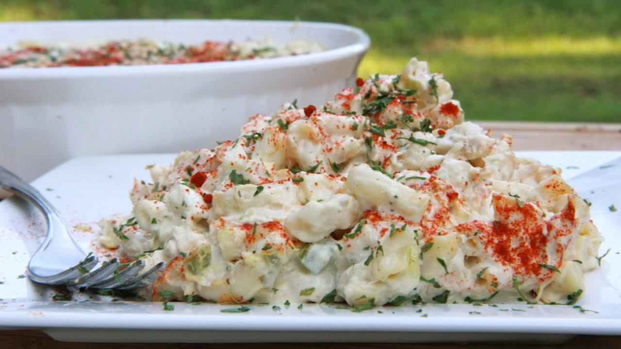 Easy Southern Tuna Macaroni Salad Recipe - YouTube