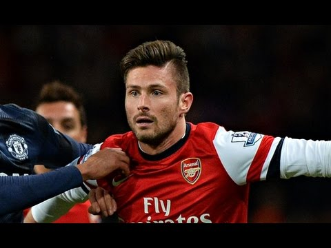 Olivier Giroud Amazing Goal vs Manchester City • 10 / 08 / 2014 • Arsenal Vs Manchester City 3-0