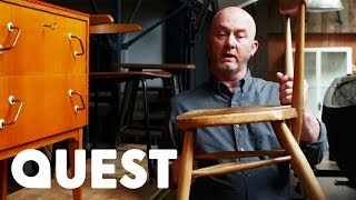 How To Repair a Wooden Chair - Salvage Hunters DIY Tips
