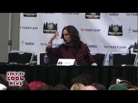 Eliza Dushku Q&A from Austin Comic Con 2012