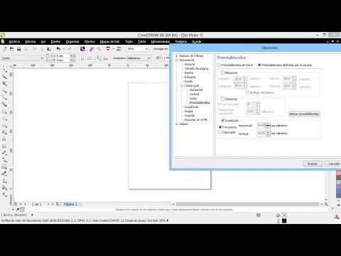 Curso Introducción a CorelDraw X6 - 28 Crear y Configurar Guías Rápidamente
