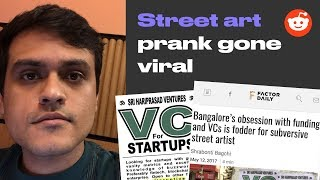 VC for Startups prank in Koramangala (with responses)