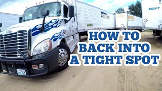 HOW TO Back into a TIGHT SPOT | I explain HOW
