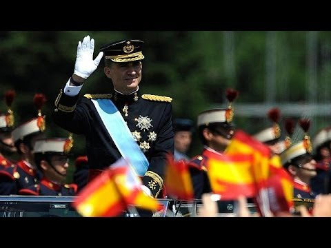 Spain's King Felipe VI begins his new reign
