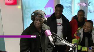 Andy - FunX Talent - The Pitch (1ste ronde met I Am Aisha)