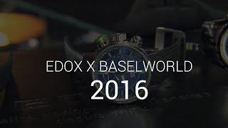 Baselworld 2016 - Edox z Olivierem Janiakiem