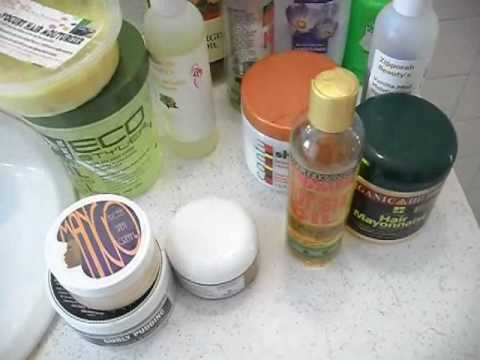 Hair Products I Use On Natural Hair - SimplYounique