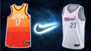 All 30 NBA Team Nike The City Edition Jerseys (2017)