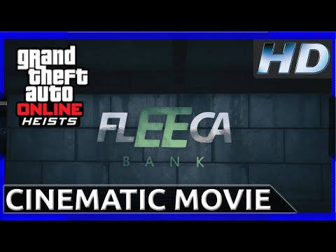 gta 5 the fleeca job [rockstar editor movie] hd youtube