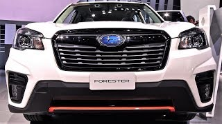 2019 Subaru Forester Sport - Inside - 2018 NYIAS