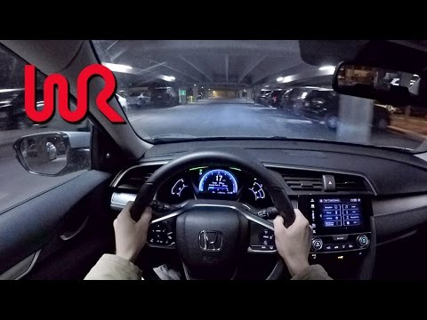 2016 Honda Civic Touring - WR TV POV Night Drive