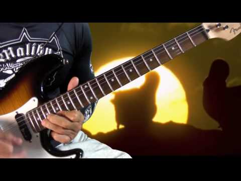 pink floyd shine on you crazy diamond guitar lesson part 2 ...