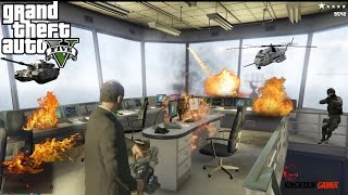 GTA V Secret Military Base Control Room