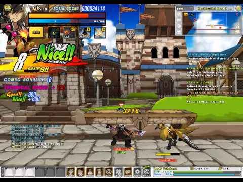 Elsword ID] Reckless Fist (5-1 VH) Residential Area 3 (No Potion)