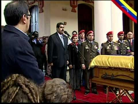 Sepelio del Comandante Chávez parte 13: Discurso final de Nicolás Maduro