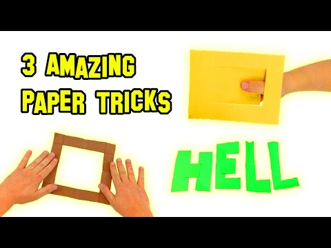 ✔ TOP 3 BEST Amazing Paper Tricks