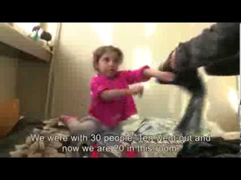 A Rough Welcome for Syrian Refugees: Five Families to a Room