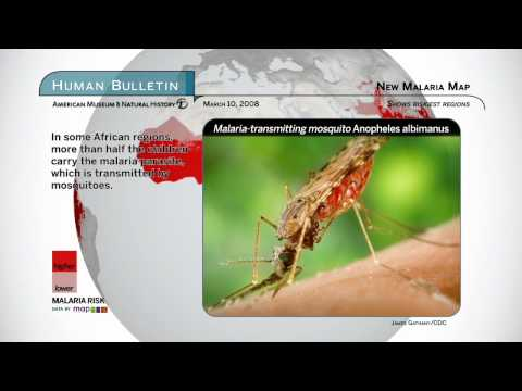Science Bulletins: New Malaria Map