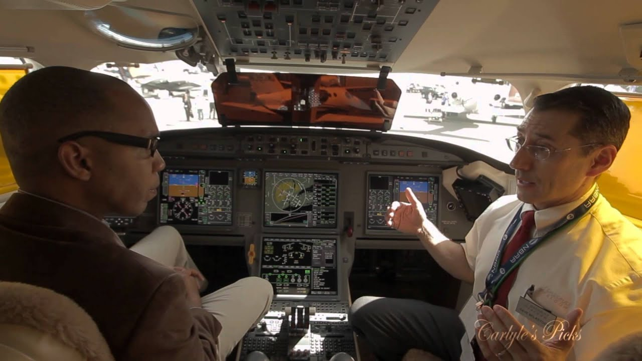 Dassault Falcon 7x Cockpit Demo Talk About Fly By Wire