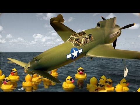 XP-55 Ascender - Знаменитая утка - War Thunder