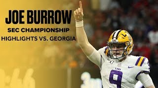 Joe Burrow Dominates No. 4 Georgia In SEC Championship, Breaks Single-Season TD Record