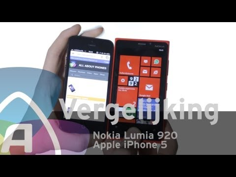Nokia Lumia 920 vs Apple iPhone 5 review