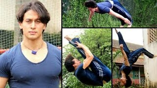 HOT: Jackie Shroff's son Tiger in ACTION