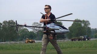 3D RC Turbine 6x Blade Model Helicopter 29.Oldtimermeeting Switzerland