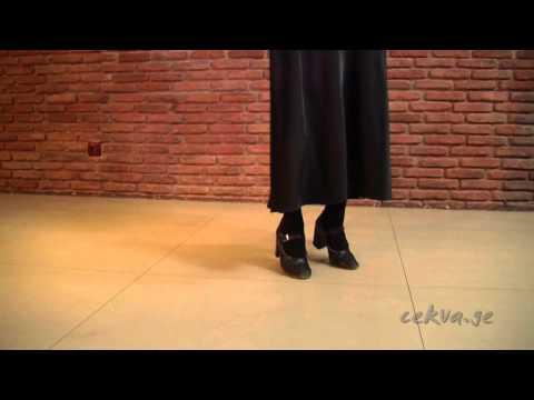 აჭარული ცეკვის შესწავლა (ფრაგმენტი)