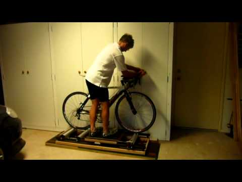 DIY Motion roller trainer with resistance