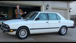Here's Why the E28 BMW 535i Is Now Worth $50,000