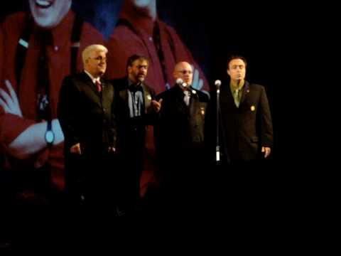 The Management quartet singing Lullaby