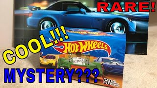 Hot Wheels Unboxing MYSTERY BOX 50 pack Cool and Rare 2018 cars inside. My 1st Unboxing